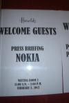 Nokia Press briefing.