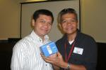 Tony Despojo of Cebu Daily News won a Nokia C2-00.
