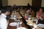 The sumptuous meal at Harold's Hotel hosted by Nokia Philippines.